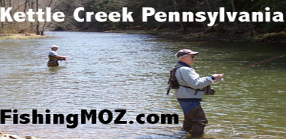 Kettle Creek Stocked Trout Fishing