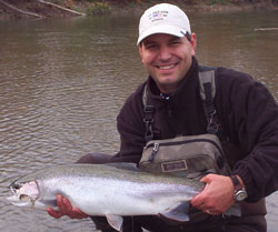 Springtime Steelhead Fishing